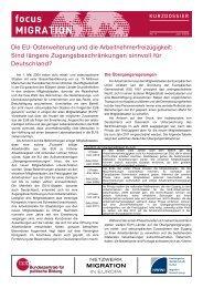 focus Migration - Netzwerk Europäische Bewegung Deutschland
