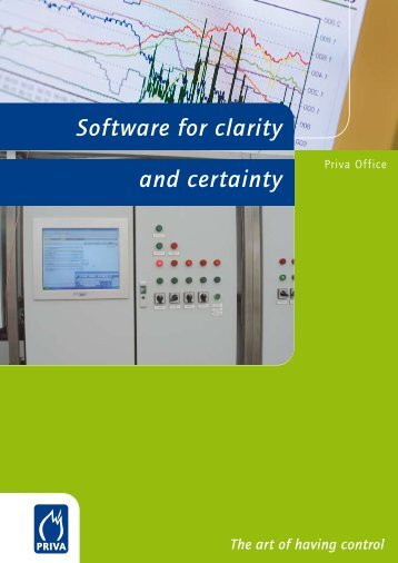 Software for clarity and certainty