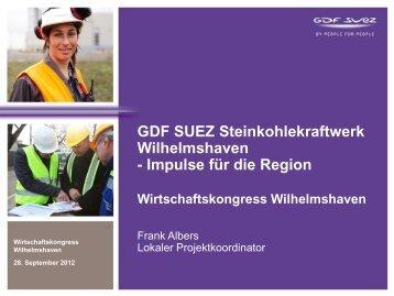GDF SUEZ - Stadt Wilhelmshaven