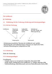 m - Wirtschaftspolitisches Seminar - Prof. Dr. Ralph Anderegg