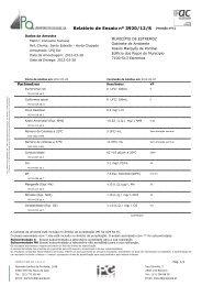 Relatório de Ensaio nº 3920/12/S (Versão nº1)
