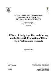 Effects of Early Age Thermal Curing on the Strength Properties of ...