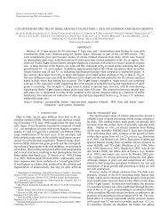 C2D SPITZER-IRS SPECTRA OF DISKS AROUND T TAURI STARS ...