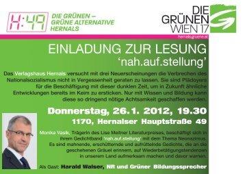 Flyer_A6_Lesung:Layout 1.qxd - Verlagshaus Hernals