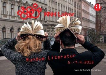 KNH Labor rundum Literatur_02_07.indd - Verlagshaus Hernals