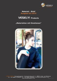 VESELY! material letter, 02/2015