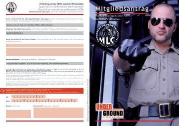 Mitgliedsantrag - MLC München