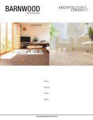 BARNWOOD - Architectural Ceramics