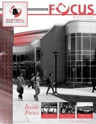 December 2010 Foundation Focus Newsletter - Hartnell College!!