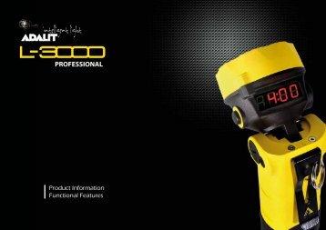 Info completa Adalit L3000 - Adaro Tecnología