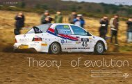 Well established in the UK, the Evo Challenge rally championship ...