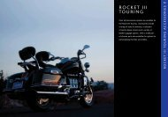 Accessories for your Triumph Rocket III Touring