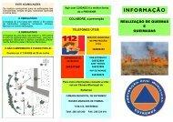 Folheto - Queimas e Queimadas - Câmara Municipal de Estremoz
