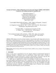 Geração de Mosaico e de Blocos Diagramas através do ... - OBT - Inpe