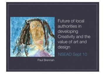 The future of LAs in developing creativity and the value of art and ...