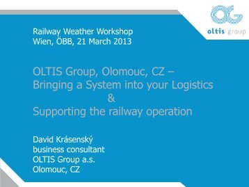 Bringing a System into Your Logistics