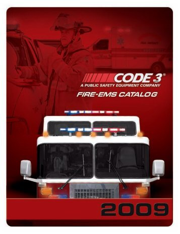OsciLaser as shown in our Catalog - Code 3 Public Safety Equipment