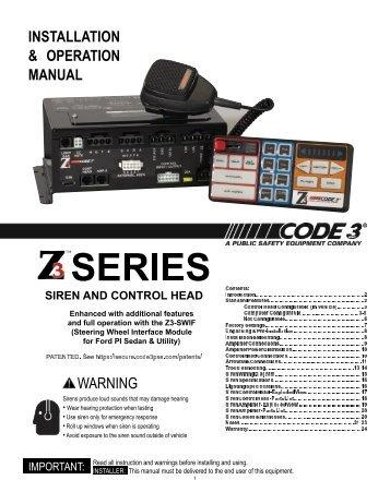 Code 3 Mx7000 Wiring Diagram - Wiring Diagram and Schematics