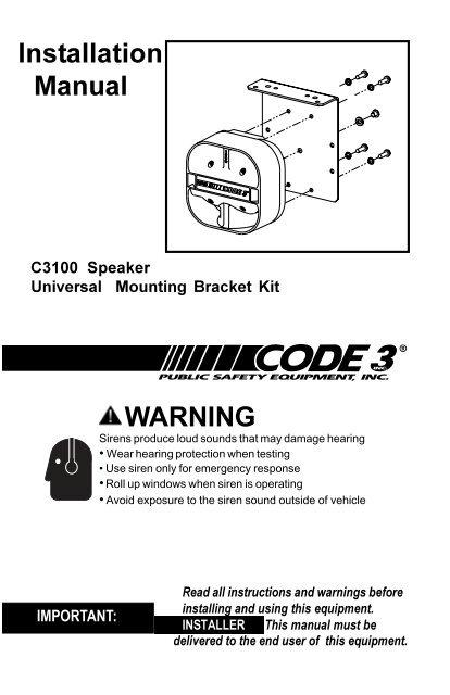 c3100 series speaker installation guide code 3 public safety HP Photosmart C3100 Manual c3100 series speaker installation guide code 3 public safety