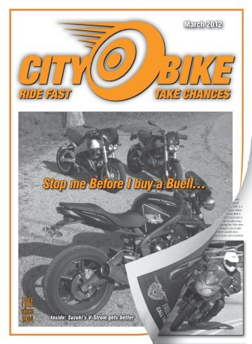 Stop me Before I buy a Buell… - CityBike