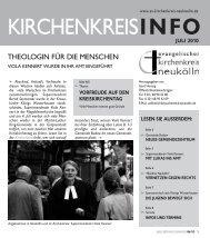 KKI Juli 2010 - evangelischen Kirchenkreis Neukölln