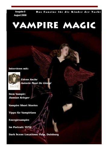 Entwurf Magazin Vampire