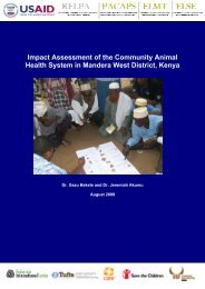 Impact Assessment of the Community Animal Health System in ...