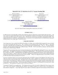 Hybrid DC-DC-AC Main Drive for ILVA, Taranto ... - Tmeic.com