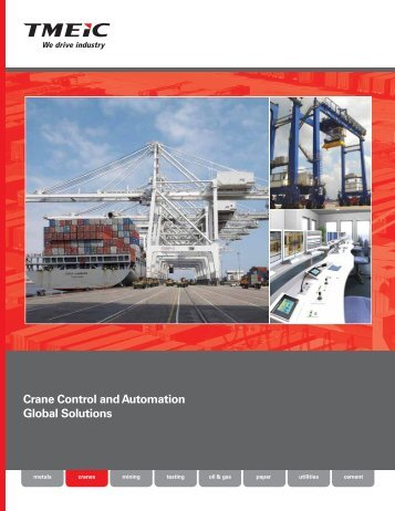 Crane Control and Automation Global Solutions (email) - Tmeic.com