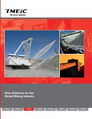 Drive Solutions for the Global Mining Industry - Tmeic.com