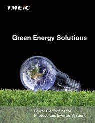 Green Energy Solutions for Photovoltaic Inverter Systems - Tmeic.com