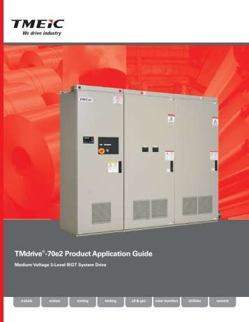 TMdrive-70e2 Product Application Guide - Tmeic.com