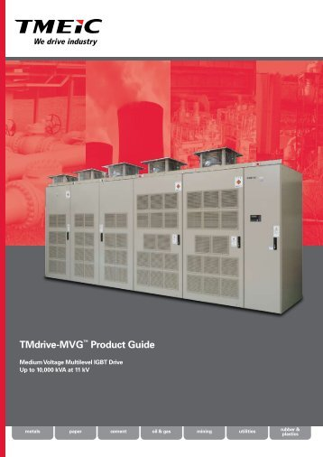 TMdrive-MVG™ Product Guide - Tmeic.com