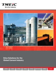 Drive Solutions for the Global Cement Industry (email) - Tmeic.com