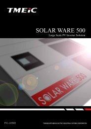 Solar Ware 500 (North America) - Tmeic.com