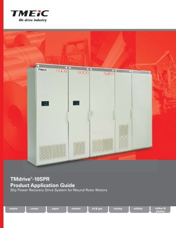 Download the TMdrive-10 SPR Product Application Guide - Tmeic.com