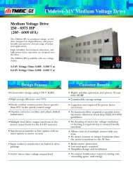 TMdrive-MV Medium Voltage Drive - Tmeic.com