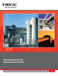 Drive Solutions for the Global Cement Industry - Tmeic.com