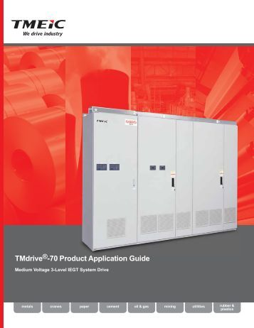 TMdrive -70 Product Application Guide - Tmeic.com