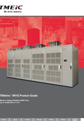 TMdrive™-MVG Product Guide - Tmeic.com