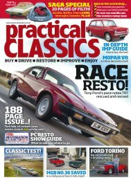 Practical Classics Magazine, Spring issue