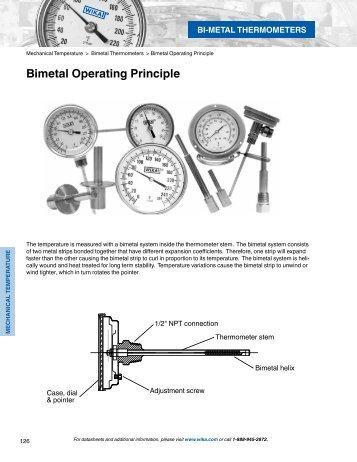 WIKA Catalog 900 - Bimetal Thermometers
