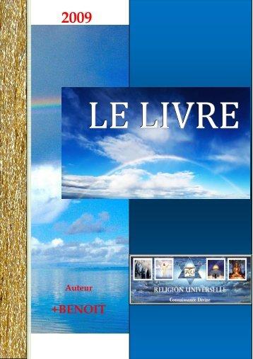 LE LIVRE DE L'EVEIL - Benoit,religion universelle