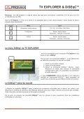Le TV Explorer et le DiSEqC(TM) - Promax - Page 2
