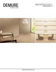 demure erams - Architectural Ceramics