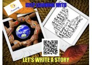 Let's write a story - november issue