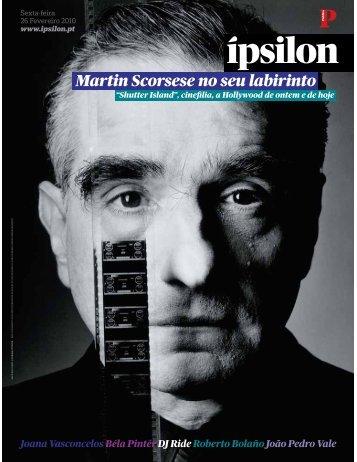 Martin Scorsese no seu labirinto - Fonoteca Municipal de Lisboa