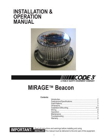 mirage installation guide code 3 public safety equipment?quality\\\=85 code 3 excalibur wiring diagram electrical wiring diagrams