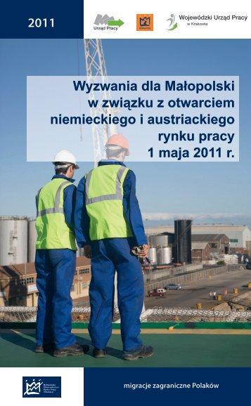 Przeczytaj analizę - Wojewódzki Urząd Pracy w Krakowie