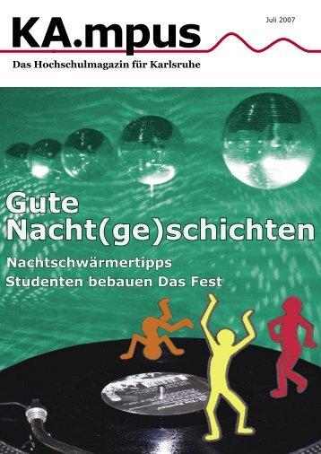 KA.mpus Juli 2007 als PDF downloaden - Extrahertz